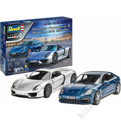 Revell 1:24 Porsche Panamera & 918 Spyder Gift SET