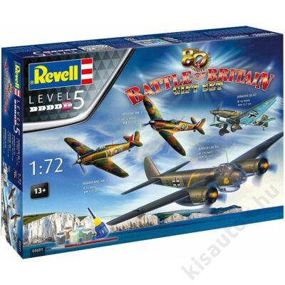 Revell 1:72 Gift Set 80th anniversary Battle of Britain repülő makett