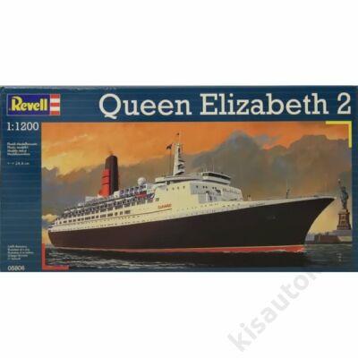 Revell-1:1200 Queen Elizabeth 2