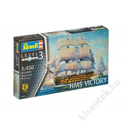 Revell 1:450 HMS Victory hajó makett