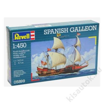 Revell 1:450 Spanish Galleon hajó makett