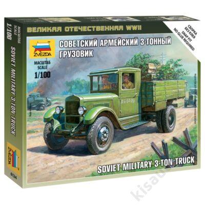 Zvezda 1:100 Soviet Military 3-ton Truck