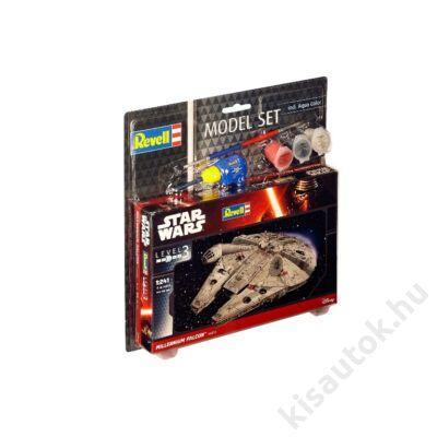 Revell 1:241 Millenium Falcon SET Star Wars makett