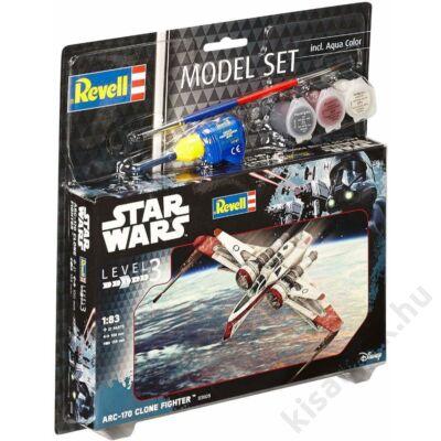 Revell 1:83 ARC-170 Clone Fighter SET Star Wars makett