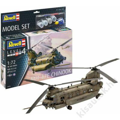Revell 1:72 MH-47E Chinook SET helikopter makett