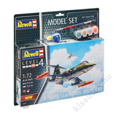 Revell 1:72 Lockheed F-104G Starfighter RNAF/BAF SET repülő makett