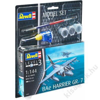 Revell 1:144 BAe Harrier GR. 7 SET repülő makett