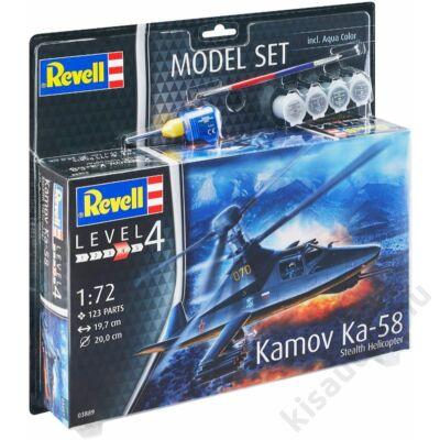 Revell 1:72 Kamov Ka-58 Stealth Helicopter SET helikopter makett