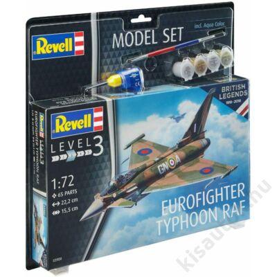 Revell 1:72 Eurofighter Typhoon RAF 100 Years of British Legends SET
