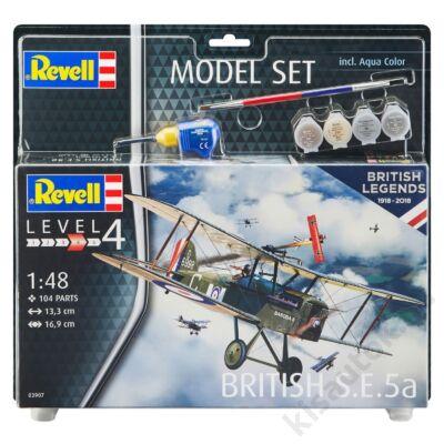 Revell 1:48 British S.E.5a SET repülő makett