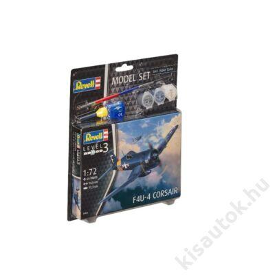Revell 1:72 F4U-4 Corsair SET repülő makett