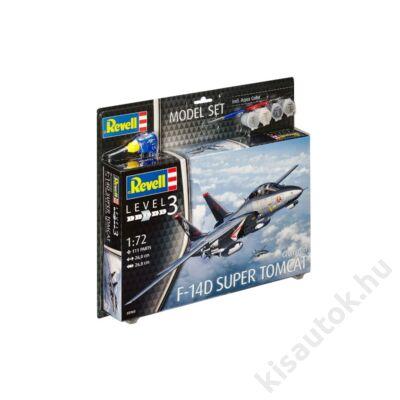 Revell 1:72 F-14D Super Tomcat Grumman SET repülő makett