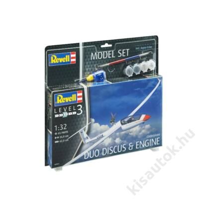 Revell 1:32 Gliderplane Duo Discus & Engine SET