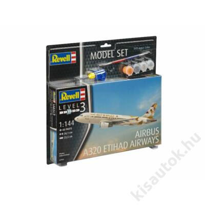 Revell 1:144 Airbus A320 Etihad Airways SET