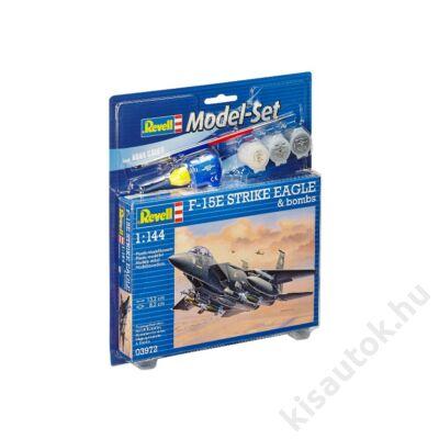 Revell 1:144 F-15E Strike Eagle & bombs SET repülő makett