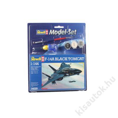 Revell 1:144 F-14A Black Tomcat SET repülő makett