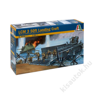 Italeri 1:35 LCM 3 50ft Landing Craft
