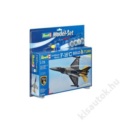 Revell 1:72 Lockheed Martin F-16C Solo Turk SET repülő makett