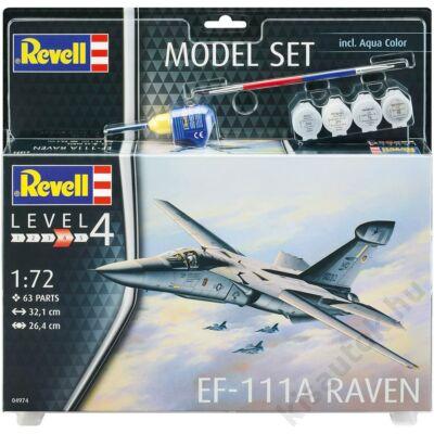 Revell 1:72 EF-111A Raven SET repülő makett