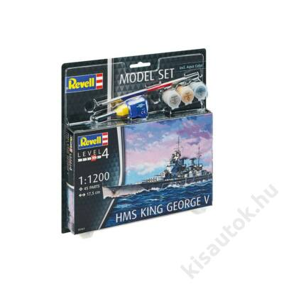 Revell 1:1200 HMS King George V SET