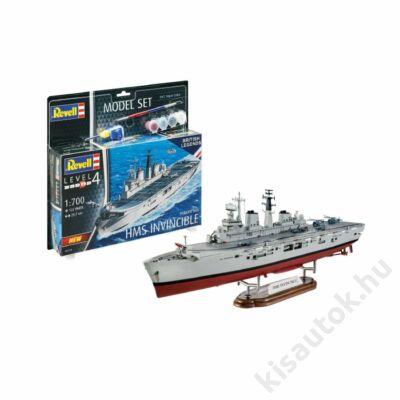 Revell 1:700 HMS Invincible (Falkland War) British Legends SET