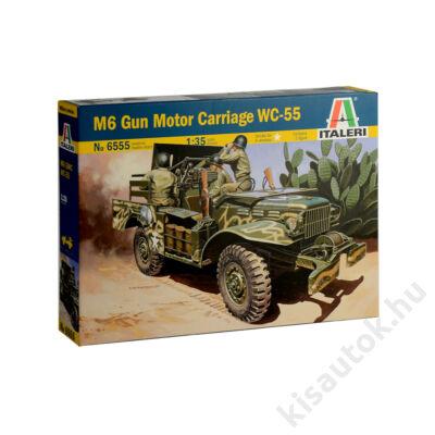 Italeri 1:35 M6 Gun Motor Carriage WC-55
