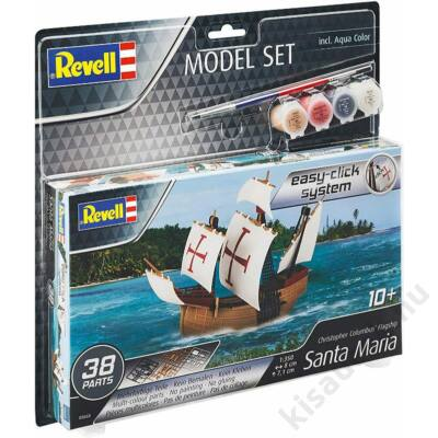 Revell 1:350 Christopher Colombus' Flagship Santa Maria Easy-Click SET