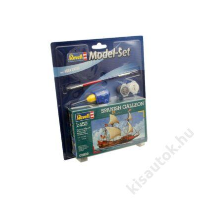 Revell 1:450 Spanish Galleon SET hajó makett