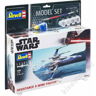 Revell 1:50 Star Wars Resistance X-Wing Fighter SET