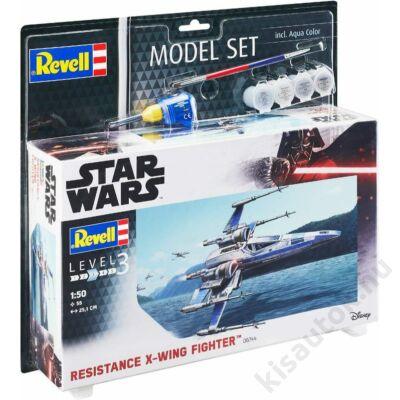 Revell 1:50 Resistance X-Wing Fighter SET Star Wars makett