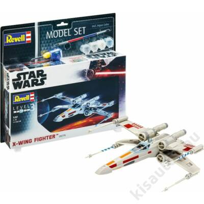Revell 1:57 X-Wing Fighter SET Star Wars makett