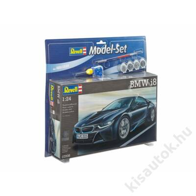Revell 1:24 BMW i8 SET