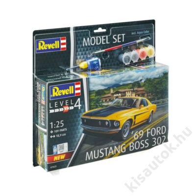 Revell 1:24 '69 Ford Mustang Boss 302 SET