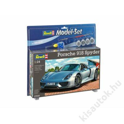 Revell 1:24 Porsche 918 Spyder SET autó makett