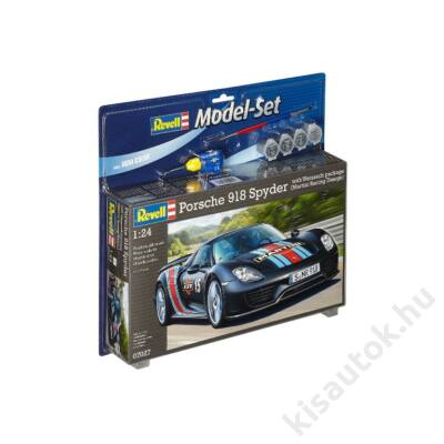 Revell 1:24 Porsche 918 Spyder with Weissach package (Martini Racing Design) SET