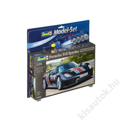 Revell 1:24 Porsche 918 Spyder with Weissach package (Martini Racing Design) SET