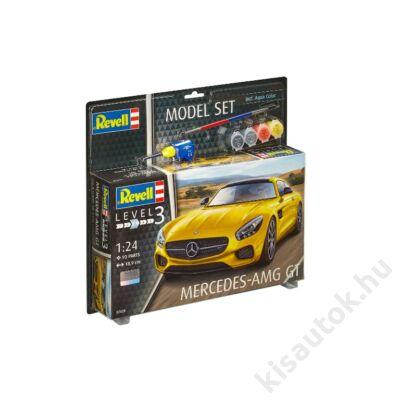 Revell 1:24 Mercedes-AMG GT SET autó makett