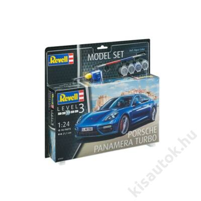 Revell 1:24 Porsche Panamera Turbo SET autó makett