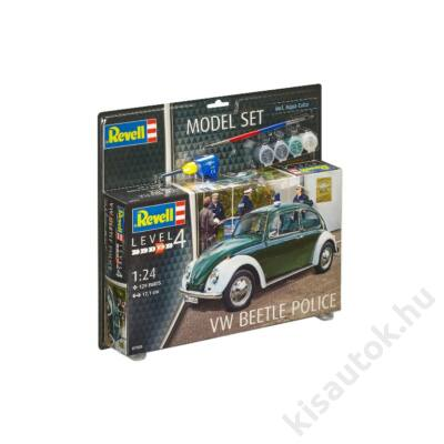 Revell 1:24 VW Beetle Police SET