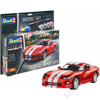 Revell 1:25 Dodge Viper GTS SET autó makett