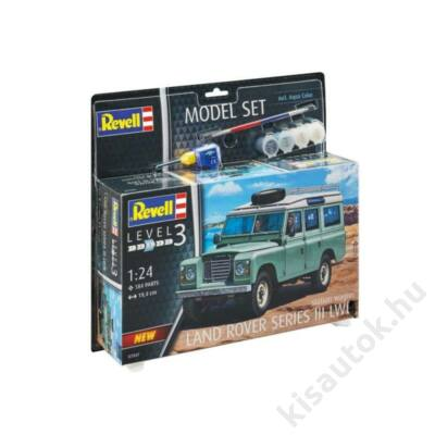 Revell 1:24 Land Rover Series III LWB station wagon SET