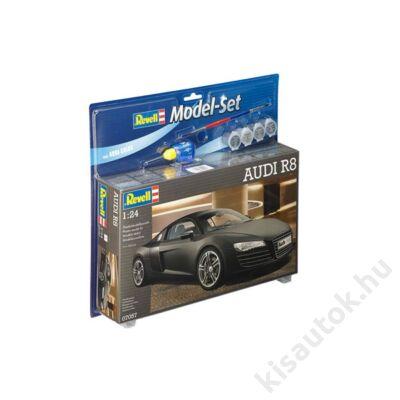 Revell 1:24 Audi R8 Black SET