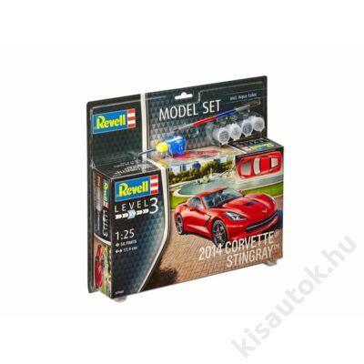 Revell 1:25 2014 Corvette Stingray SET