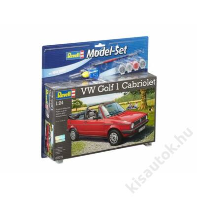 Revell 1:24 VW Golf 1 Cabriolet SET