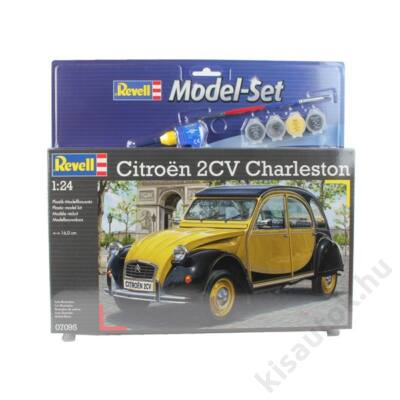 Revell 1:24 Citroen 2CV Charleston SET