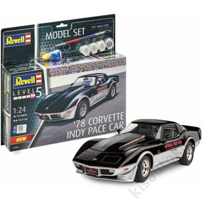 Revell 1:24 '78 Corvette Indy Pace Car SET