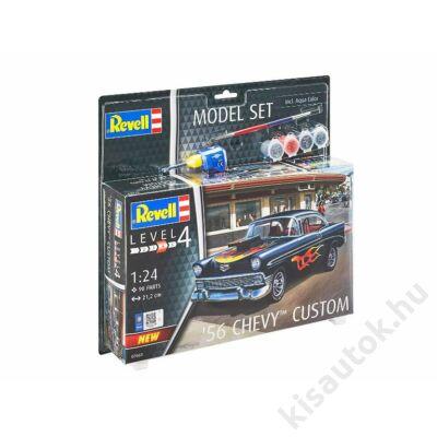 Revell 1:24 '56 Chevy Custom SET autó makett