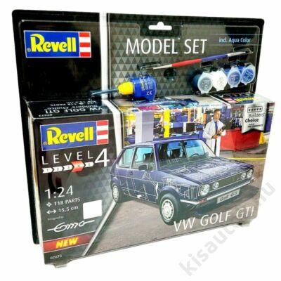 Revell 1:24 VW Golf GTI Builders' Choice SET autó makett