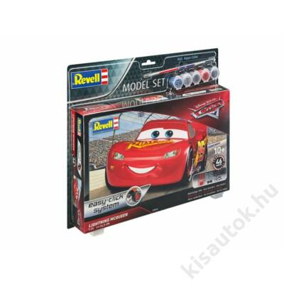 Revell 1:24 Lightning McQueen SET