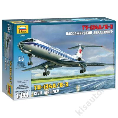 Zvezda 1:144 Russian Civil Airliner Tu-134A/B-3